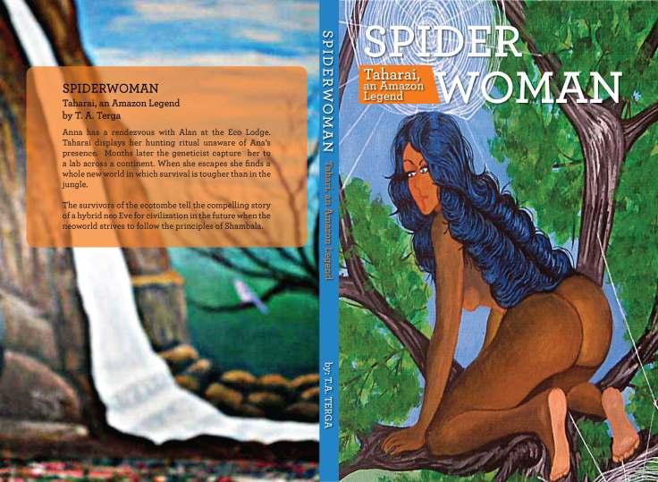 Spiderwoman Taharai, an Amazon Legend