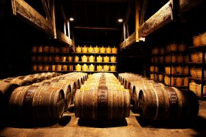 cognac oak casks