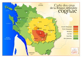 cognac region map