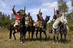 seminole war reenactment