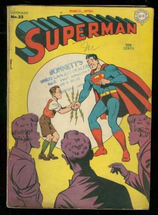 superman 1945 comic book #33